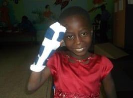 Sickle cell splint girl 2015