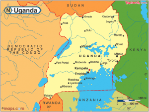 Uganda map 2