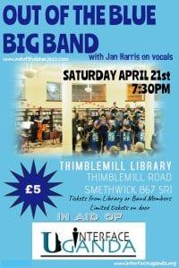 OOTB Thimblemill Poster 21042018